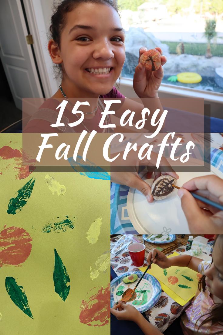 15 easy fall crafts the Ohana adventure
