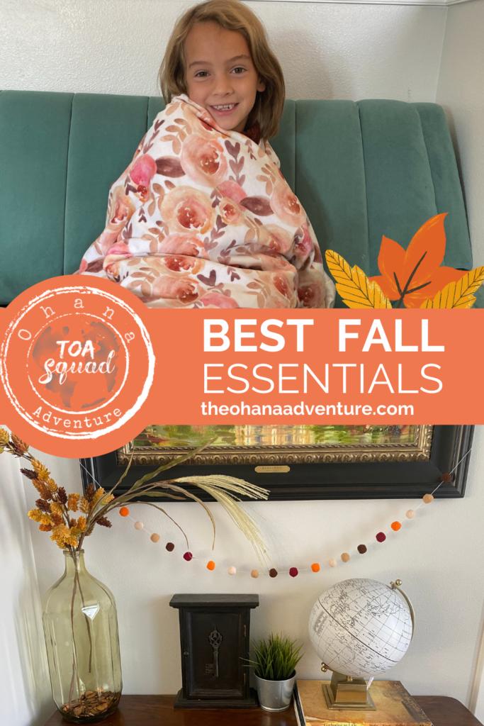 Best Fall Essentials