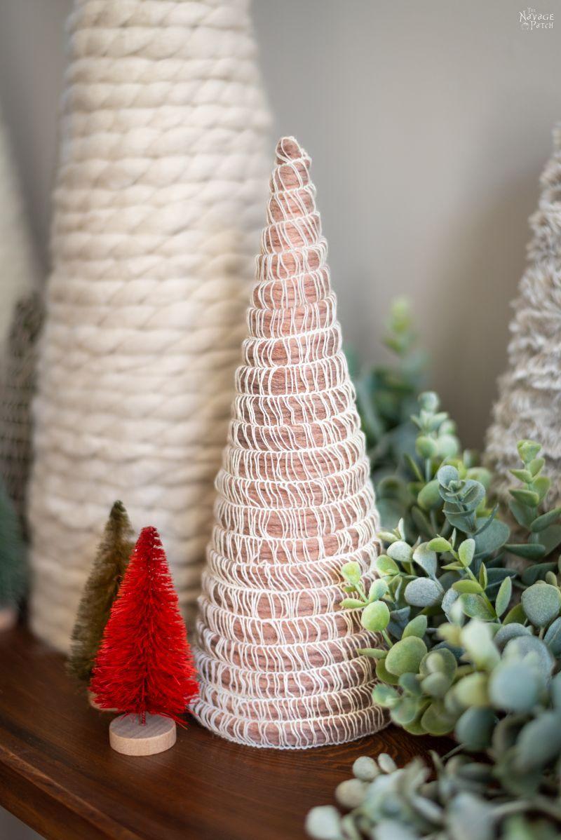 DIY Mambo Yarn Trees   An Easy & Beautiful Craft!   The Navage Patch