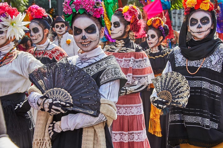 Dia de los Muertos Catrinas