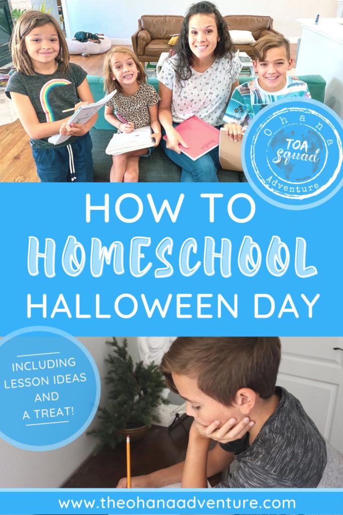 Fun Halloween Homeschool Lessons