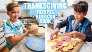 thanksgiving recipes kids can cook