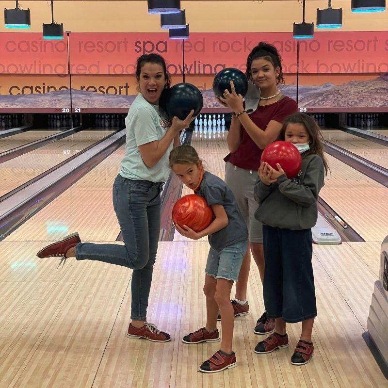 TOA Girls Bowling