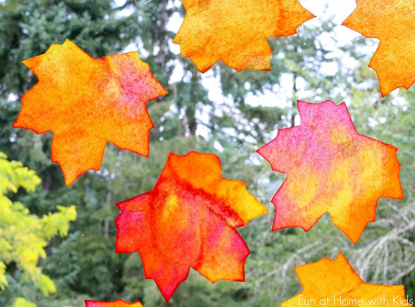 fall window decor