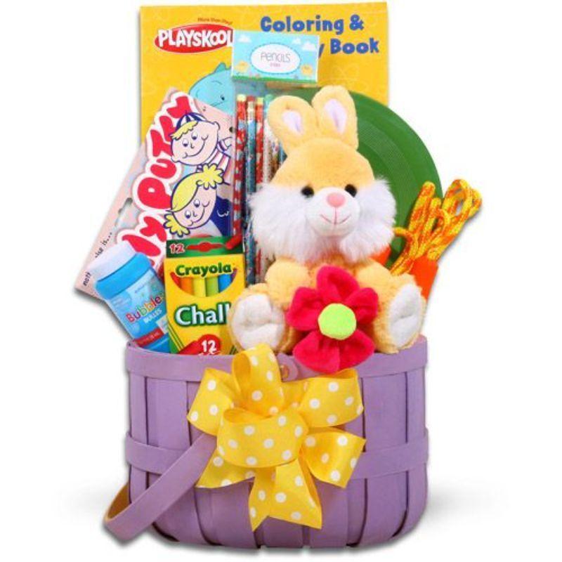kids art supplies easter basket