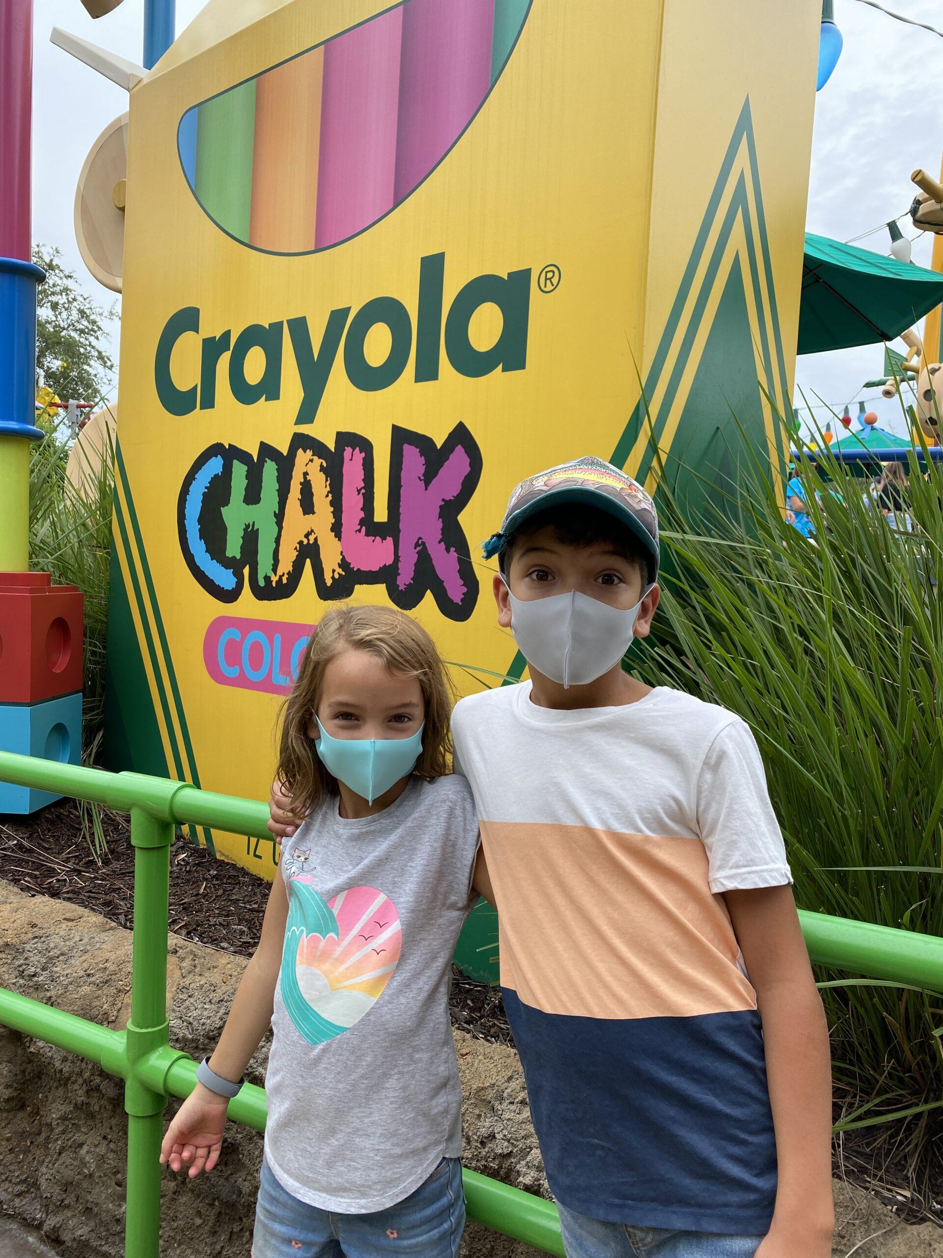 crayola at disney world