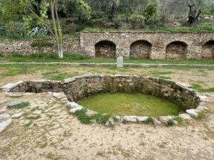 mary's well near ephesus turkey