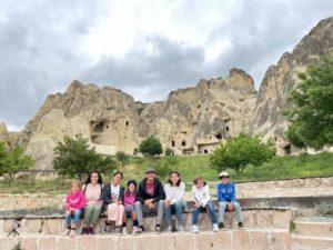cappadocia acient city ruins travel turkey