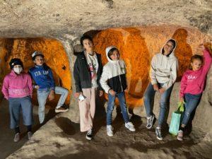 caves underground city cappadocia turkey