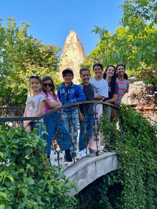 the ohana adventure family travel in cappadocia turkey